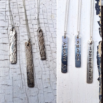 Vertical Bar Pendants By Klee Angelie