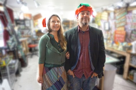 Rafi and Klee Christmas 2015