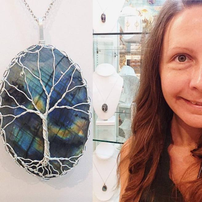 Labradorite Tree Of Life By Klee Angelie