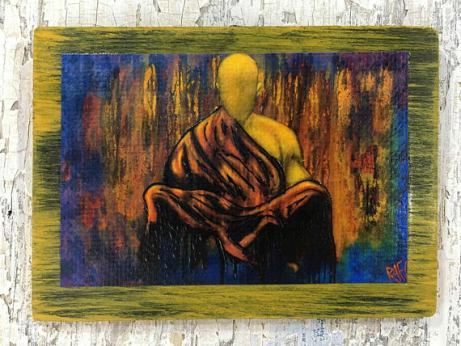 Meditation Buddha Wall Art By Artist Rafi Perez