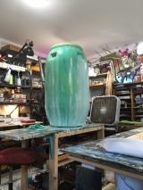 Eco Nomic Living Expo Rain Barrel Art