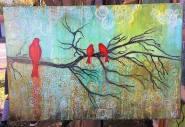 Three Birds By Rafi Perez