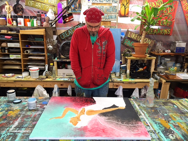 Rafi Working In Studio