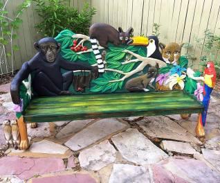 Art Bench Restore By Rafi Perez