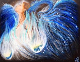 Blue Phoenix By Rafi Perez