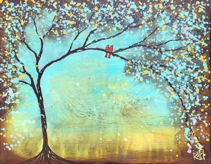Two Magic Birds By Rafi Perez