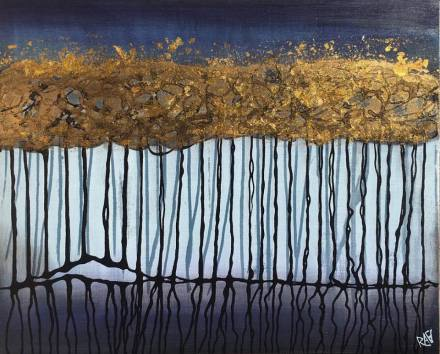 Golden Trees By Rafi Perez