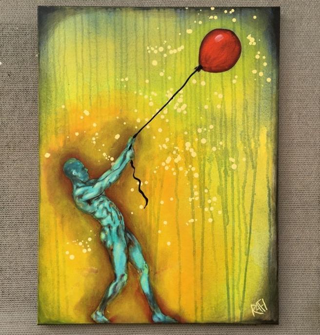 Balloon Man By Rafi Perez