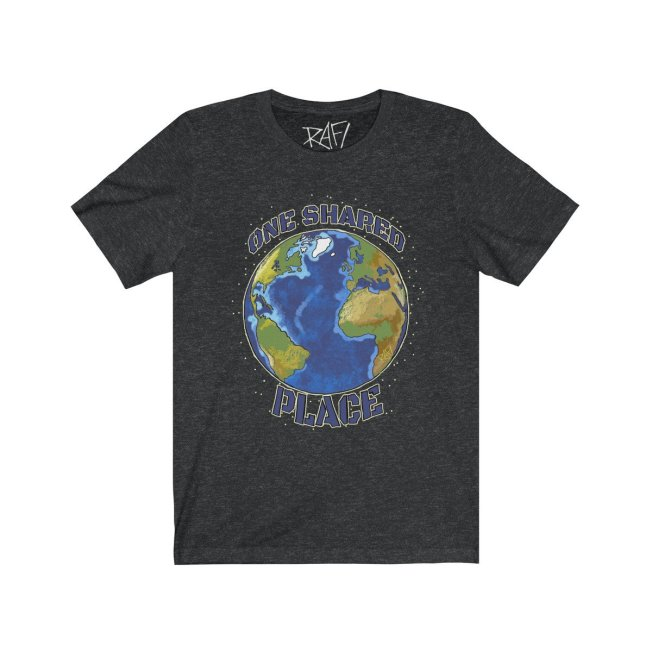 One Shared Place Tee Shirt By Rafi